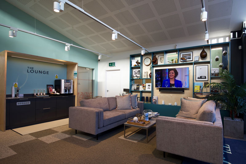 Relax and unwind in our Lounge, complete with television, wifi and hot drinks