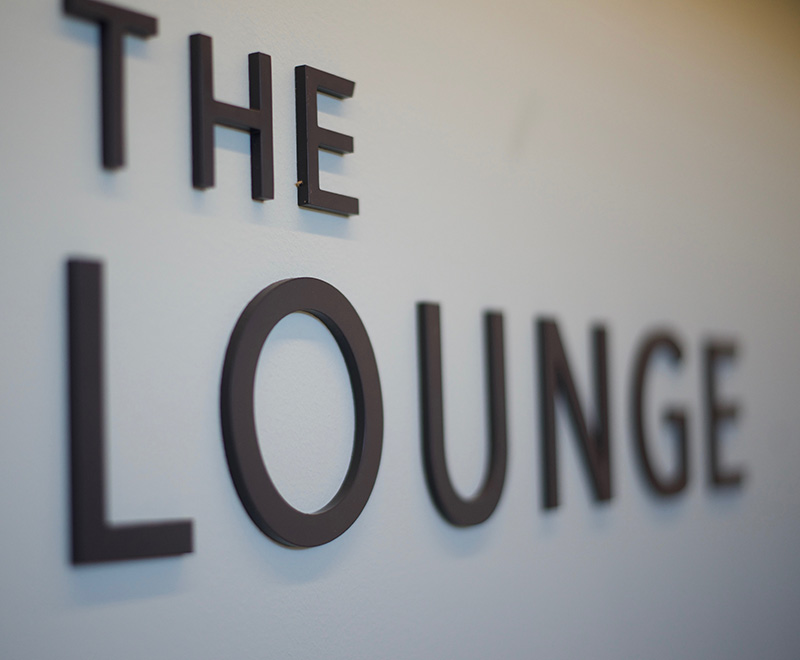 Housed inside our Clubhouse, the Lounge is a social hub; open every day between 6am and 10pm