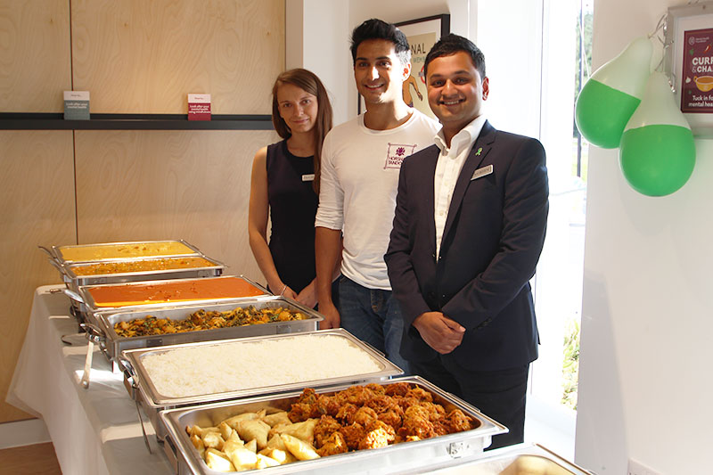 Our latest resident event was a fantastic Curry & Chaat Night in aid of Mental Health Foundation's Mental Health Awareness Week