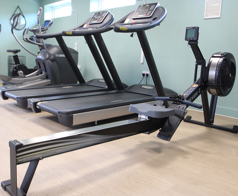 The Green's gym is one of the many onsite amenities that we are providing for the benefit of all our residents