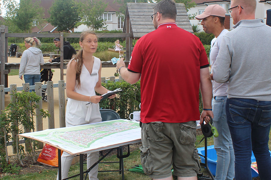 With our homes for rent near Crawley, The Green is part of brand new residential community – and we were delighted to be part of the Kilnwood Vale Community Fun Day!