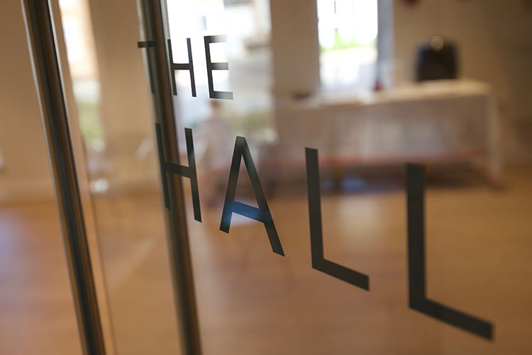 Welcome to The Hall – our multi-use events space for residents