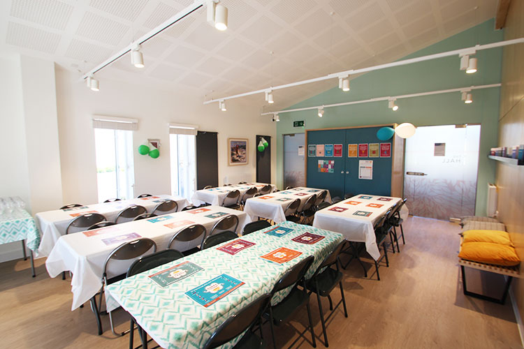 The Hall is one of the communal spaces in which we hold our exclusive resident events