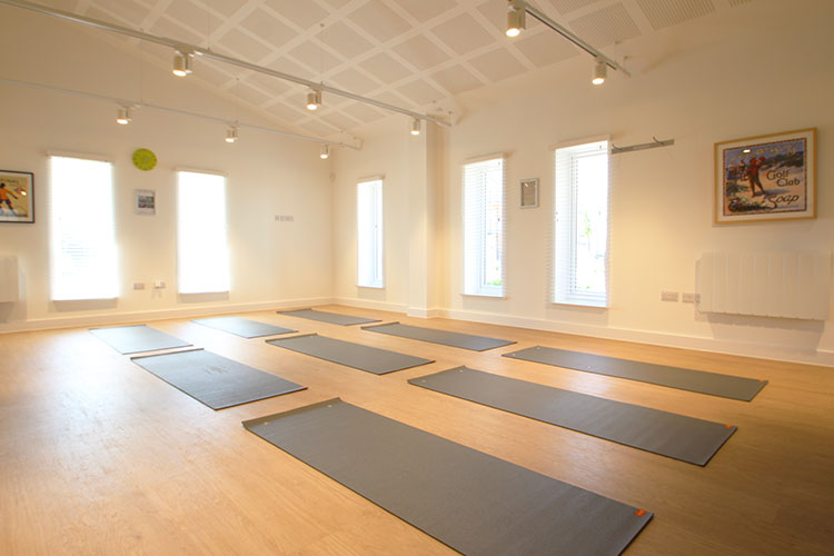 Join in with one of the many group classes that take place in The Hall...