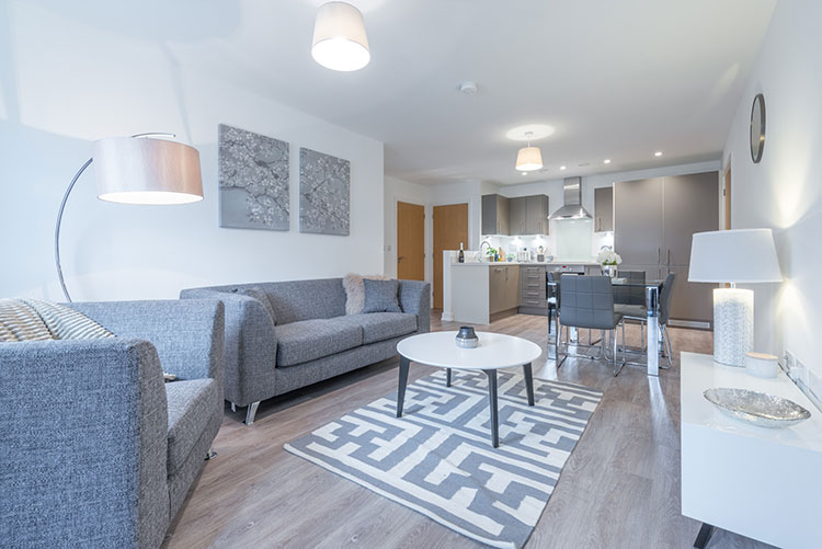 Our homes to rent feature generous open plan spaces