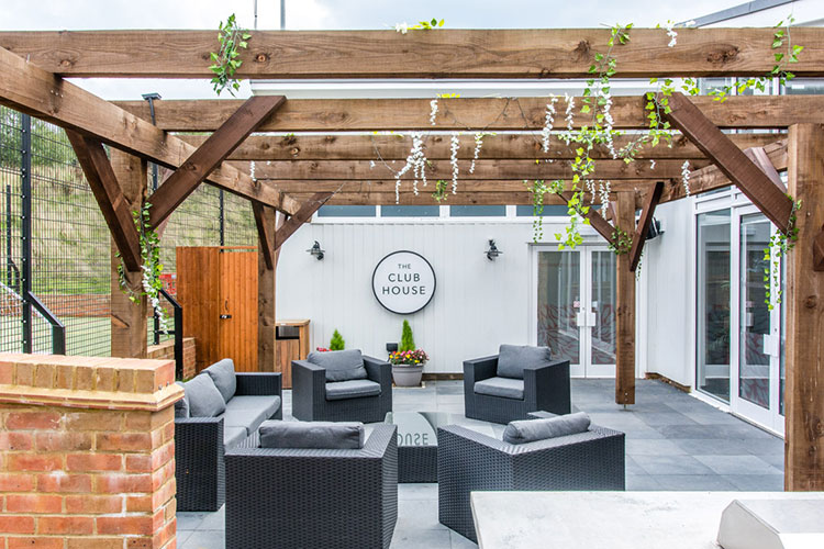 Communal spaces – like our outdoor terrace area – help create a real sense of community